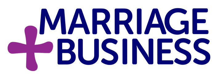 marriage plus business logo