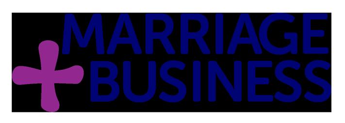 marriage plus business logo