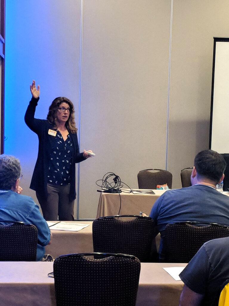 Jennifer Filzen teaching