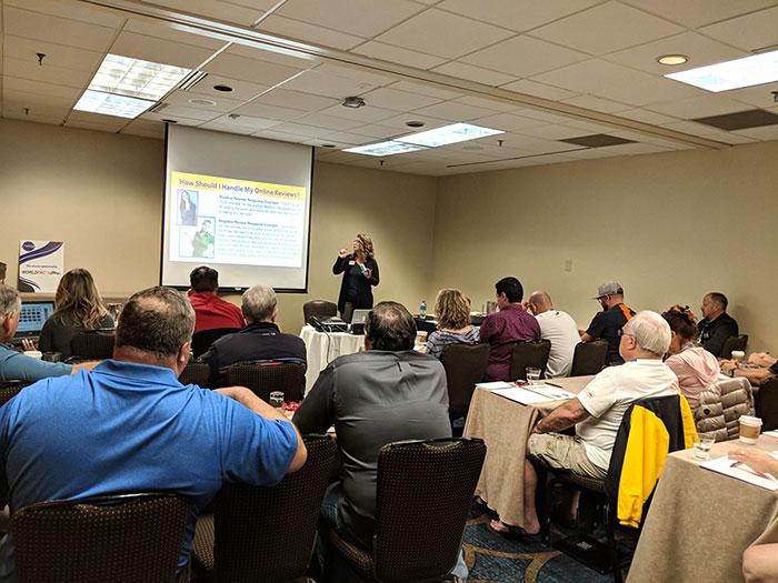 Jennifer teaching slide show